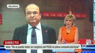 """Iceta: """"Si el PSOE hubiese apoyado la investidura de Rajoy hubiésemos desaparecido"""""""
