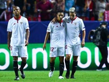 El Sevilla logra un importante triunfo ante el Lyon gracias a Ben Yedder