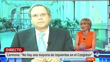 """Antonio Carmona: """"Un Congreso 'express' me parece una falta de respeto, es un error del Secretario General"""""""