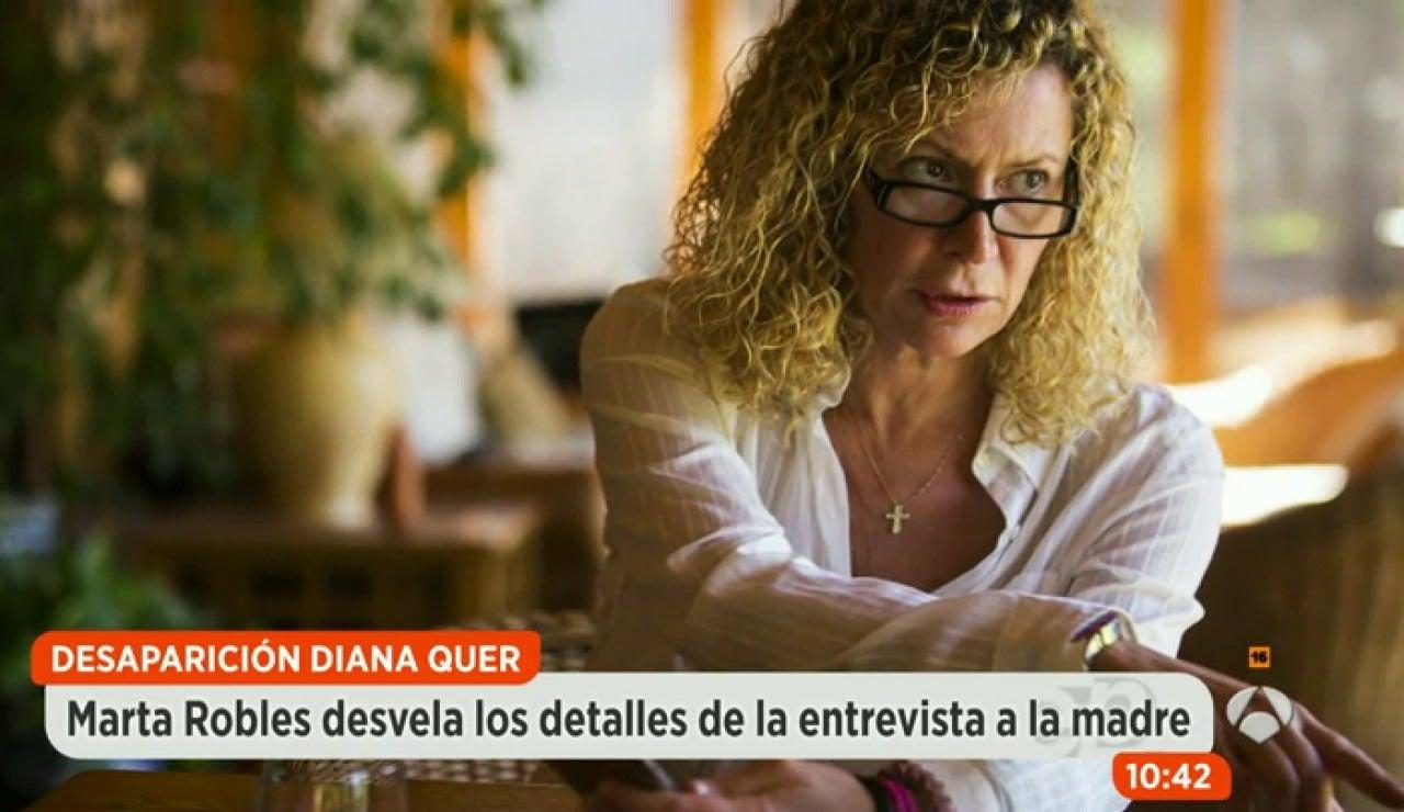 """Marta Robles: """"Diana López demostró con papeles todo lo que me dijo"""""""