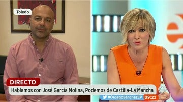 """García Molina: """"Los incumplimientos de los acuerdos de las Cortes y del legislativo nos han llevado a esta situación"""""""