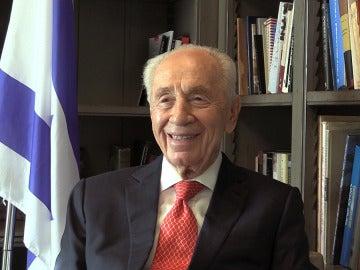 Simón Peres, expresidente israelí y Premio Nobel de la Paz