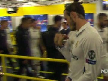 Bale y Cristiano comentaron el error de Keylor Navas en el primer gol