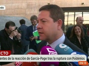 """García-Page, tras las declaraciones de González: """"Sánchez tiene que empezar por pedir disculpas y hacer autocrítica"""""""