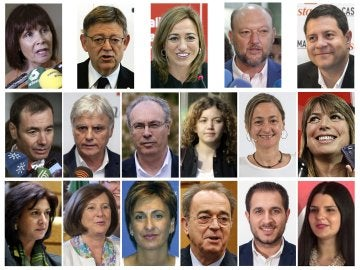 Los críticos del PSOE presentan 17 dimisiones en Ferraz para forzar la salida de Sánchez