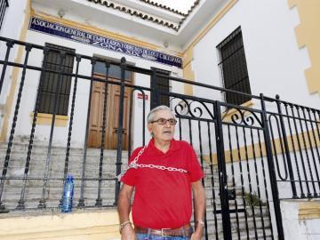 Francisco Gómez, militante del PSOE desde hace 40 años