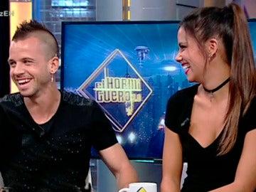 Cristina Pedroche sorprende a Dabiz Muñoz con una 'animalada' muy cuqui en 'El Hormiguero 3.0'