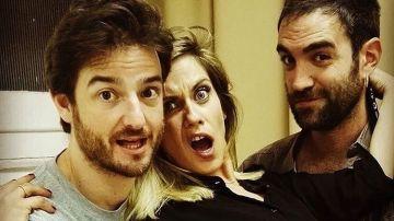 María León y Jon Plazaola dan la bienvenida a Gorka Otxoa a la tercera temporada de 'Allí Abajo'