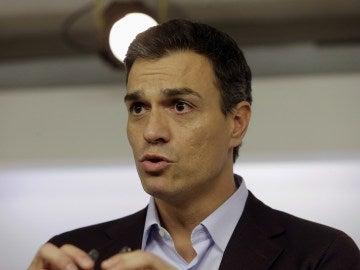 Pedro Sánchez comparece ante los medios (Archivo)