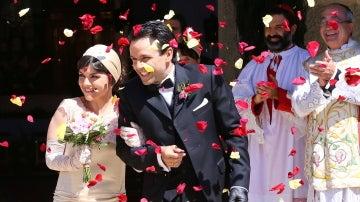 ¡Mencía y Carmelo ya son marido y mujer!