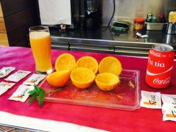 ¡Beber un zumo de naranja no es comer fruta!