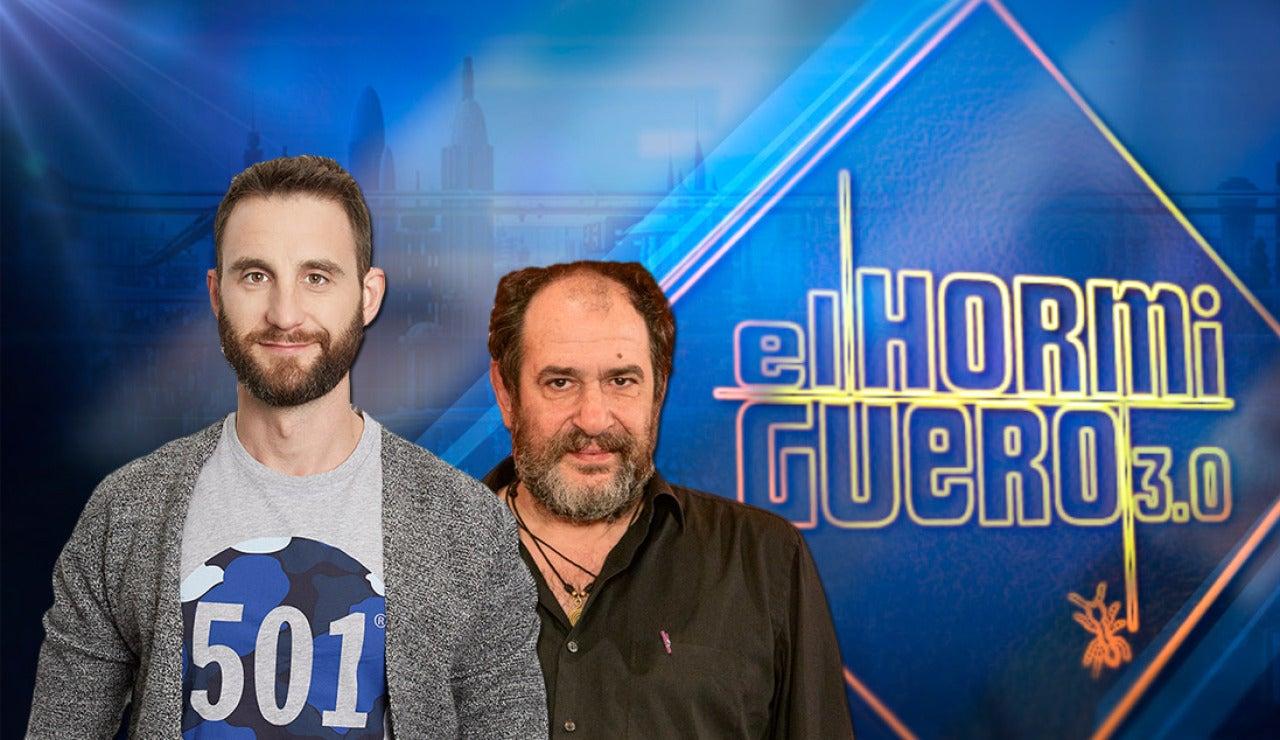 Dani Rovira y Karra Elejalde en 'El Hormiguero 3.0'