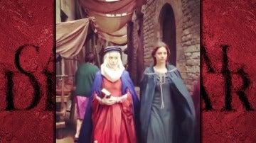 """Silvia Abascal y Michelle Jenner invaden Barcelona como """"Los Ángeles de la Catedraly"""""""