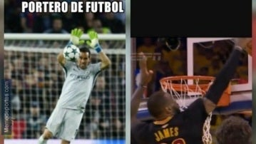 ¿Claudio Bravo o LeBron James?