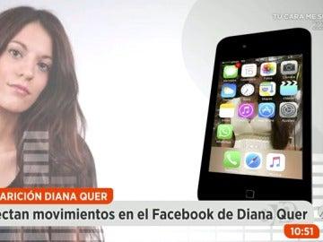 Detectan movimientos en el perfil de Facebook de Diana Quer 60 días después de su desaparición