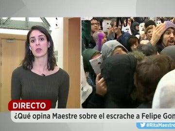 """Maestre, sobre el 'escrache' a González: """"No debemos desenfocar las cuestiones fundamentales y lo que son cuestiones accesorias"""""""