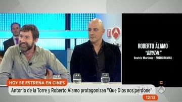 "Roberto Álamo sobre 'Que Dios nos perdone': ""En España hacemos buen cine"""
