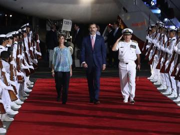 """El Rey llega a Colombia con el deseo de que la XXV Cumbre Iberoamericana sea """"un éxito"""""""