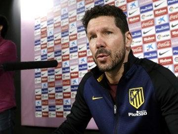 """Simeone: """"Cuando pierdes, lo importante es ganar rápidamente"""""""