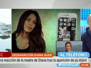 """La madre de Diana Quer después del hallazgo del móvil: """"A mi hija se la han llevado, así de claro"""""""
