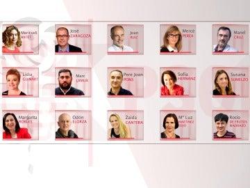 Estos son los 15 diputados díscolos del PSOE