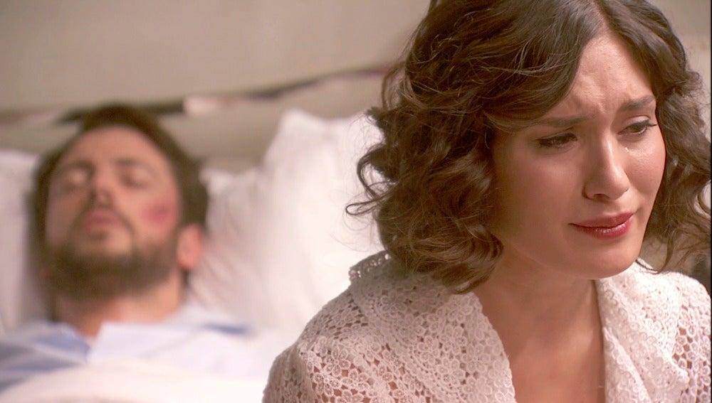 Camila jura perder su vida por proteger a Hernando