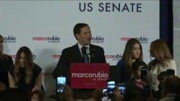 Frame 8.25848 de: El senador republicano Marco Rubio gana la reelección en Florida