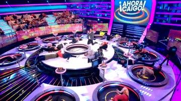 El equipo de 'Ahora Caigo' se atreve con el nuevo reto viral, 'Andy's coming challenge'