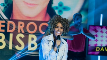 Cristina Pedroche imita a David Bisbal