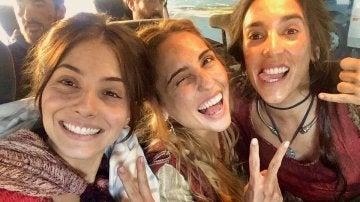 Andrea Duro, Mery Cabezuelo y Almudena Ripamonti ruedan 'La Catedral del Mar'