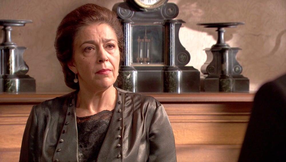 La rabia renace en Francisca Montenegro