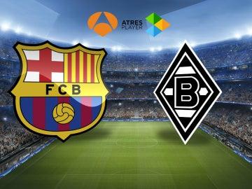 El Barcelona-Borussia Mönchengladbach se juega en Antena 3 y Atresplayer