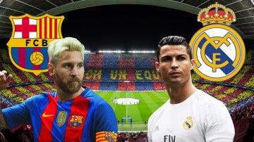 Messi y Cristiano Ronaldo, estrellas del Clásico