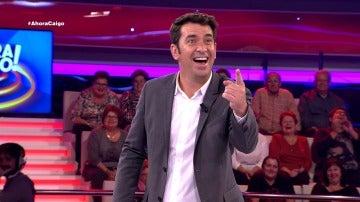Arturo Valls se queda boquiabierto