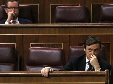 Rafael Hernando en el Congreso de los Diputados
