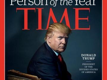 Trump, elegido hombre del año por la revista Time