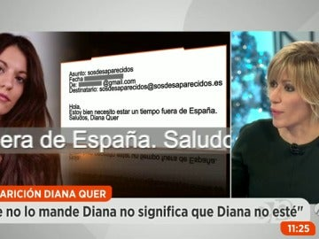 """El presidente de SOS Desaparecidos: """"No es normal que alguien usurpe la identidad de Diana Quer para mandar un correo en su nombre"""""""