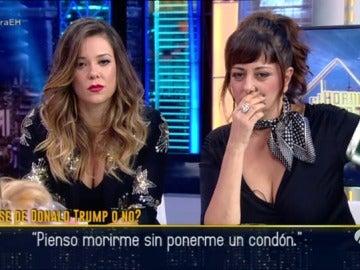 Yolanda Ramos y Lorena Gómez, atónitas ante las frases mundiales más insólitas