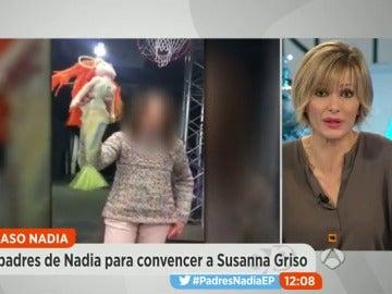 """El vídeo de Nadia para convencer a Susanna Griso quién confiesa: """"Ya no me creo nada"""""""