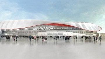 Wanda Metropolitano, nombre del nuevo estadio del Atlético de Madrid