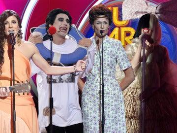 Humor y talento, protagonistas de las actuaciones de la quinta gala de 'Tu cara me suena'
