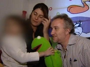Los padres de Nadia, Marga Narau y Fernando Blanco