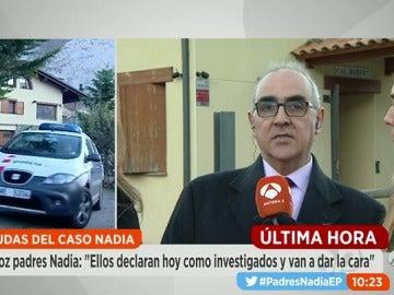 """Alberto Martín: """"Los padres de Nadia van a dar la cara"""""""