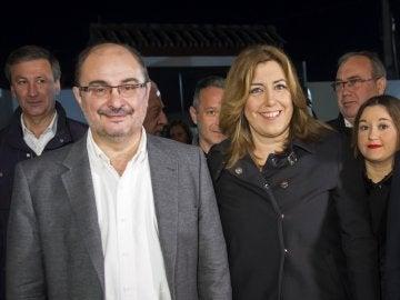 """Javier Lambán: """"Los dioses del socialismo cubren a Susana Díaz con un manto todavía más poderoso que hace un año"""""""