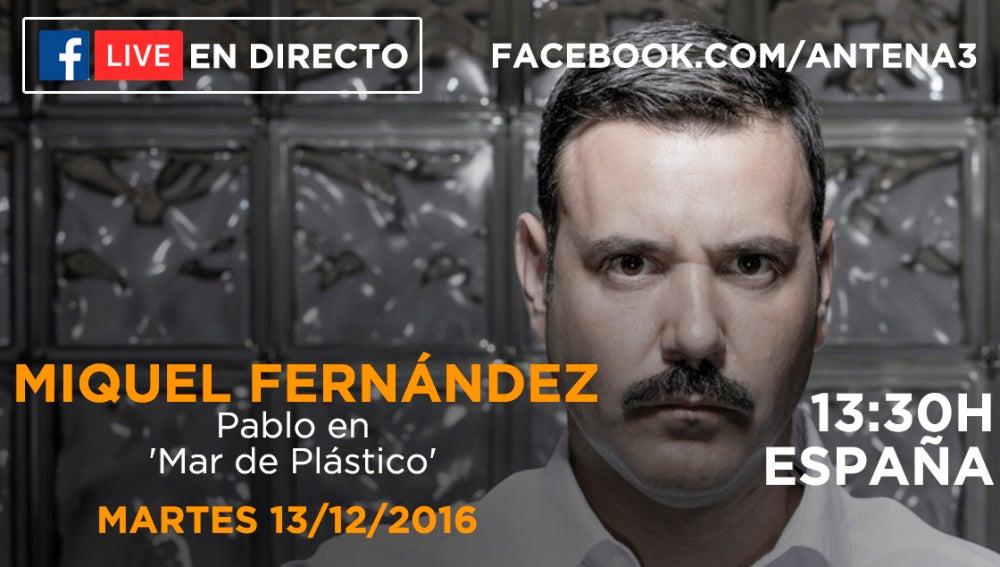 Facebook Live Miquel Fernández