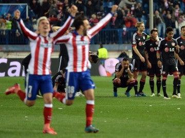 El Atlético eliminó al Bayer Leverkusen en la 2014-15