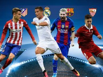 Los equipos españoles esperan rival en octavos de final