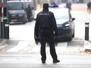Imagen de archivo de un policía nacional