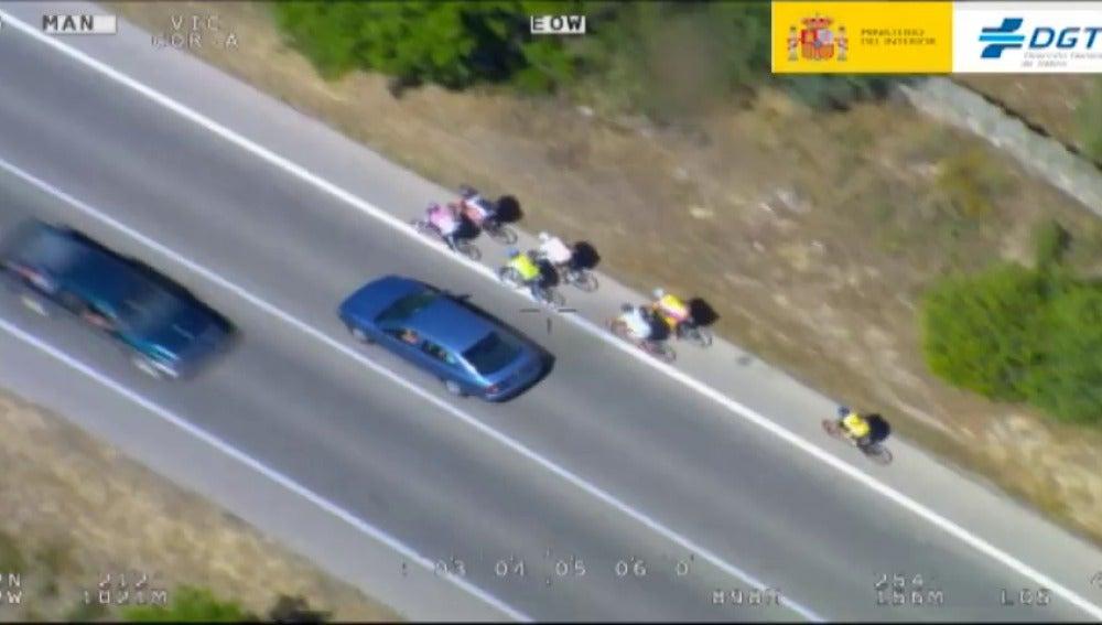 Frame 9.980872 de: El RACE propone que los ciclistas tengan carné por puntos