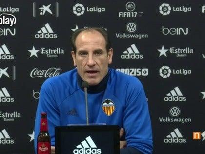 Voro,entrenador del Valencia CF